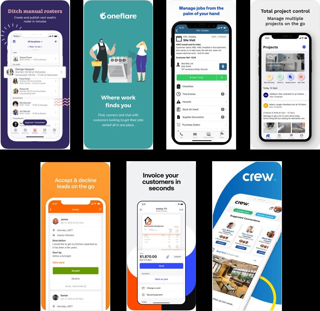 7 best tradie apps