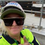 Britt Gresh, Apprentice Plumber